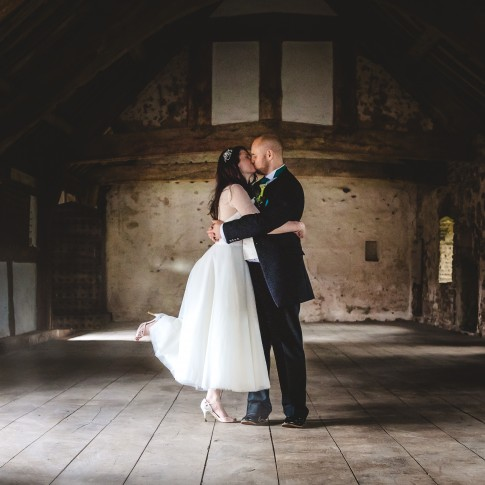 Wedding photography Tretower Court and Castle