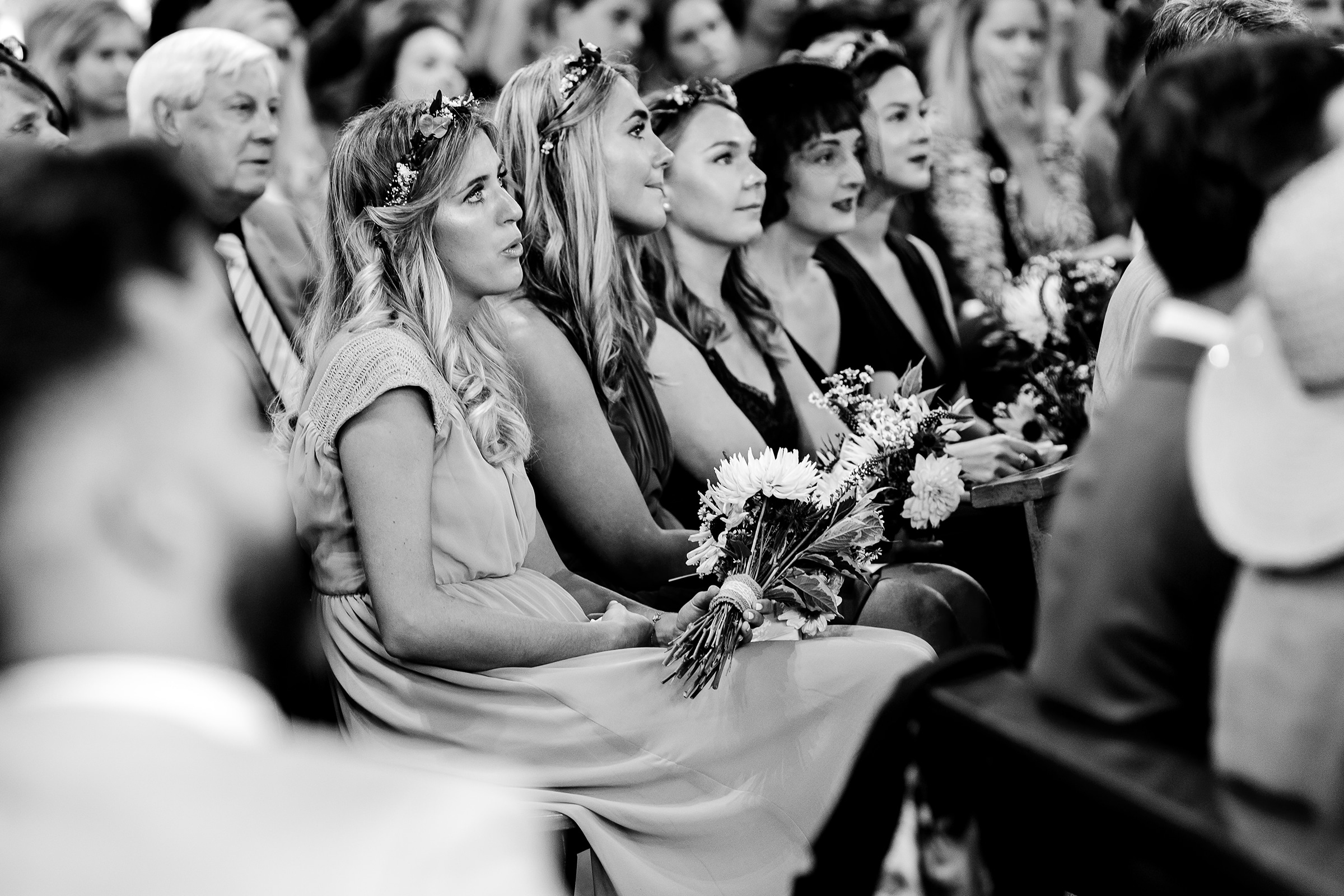 Emotional wedding photography Wales