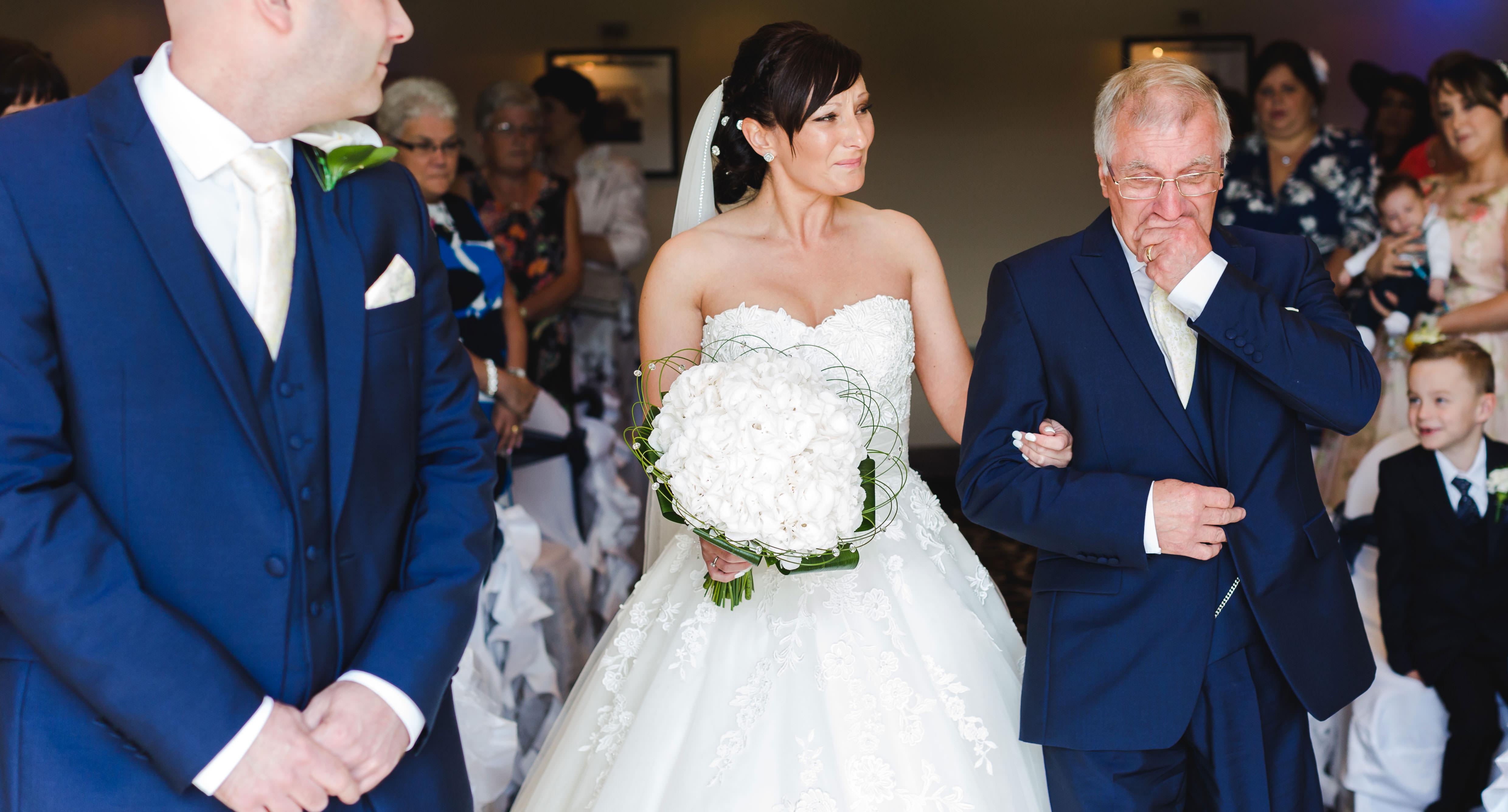 Natural wedding photographer wales