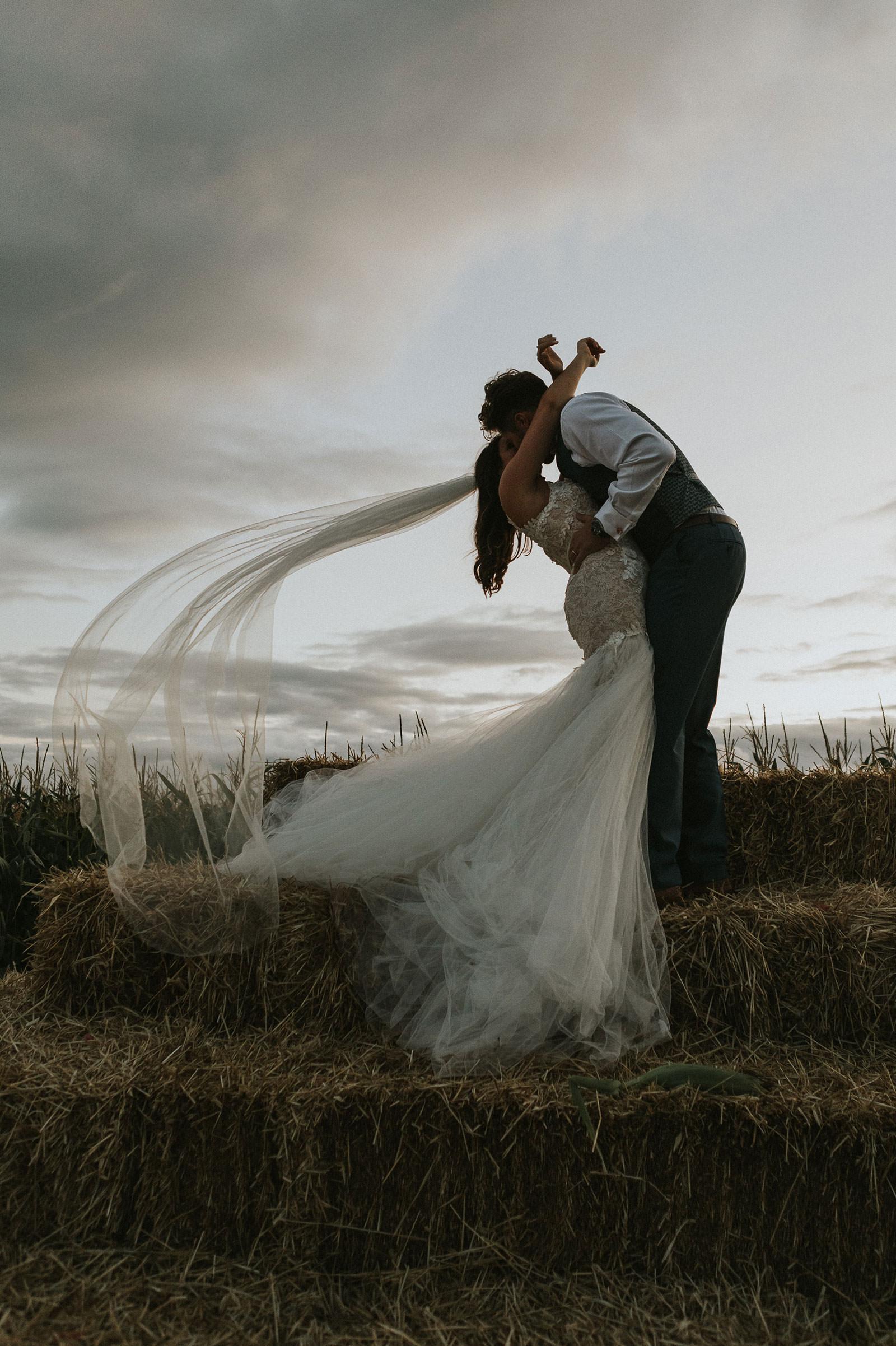 Creative wedding photography Llantwit Major