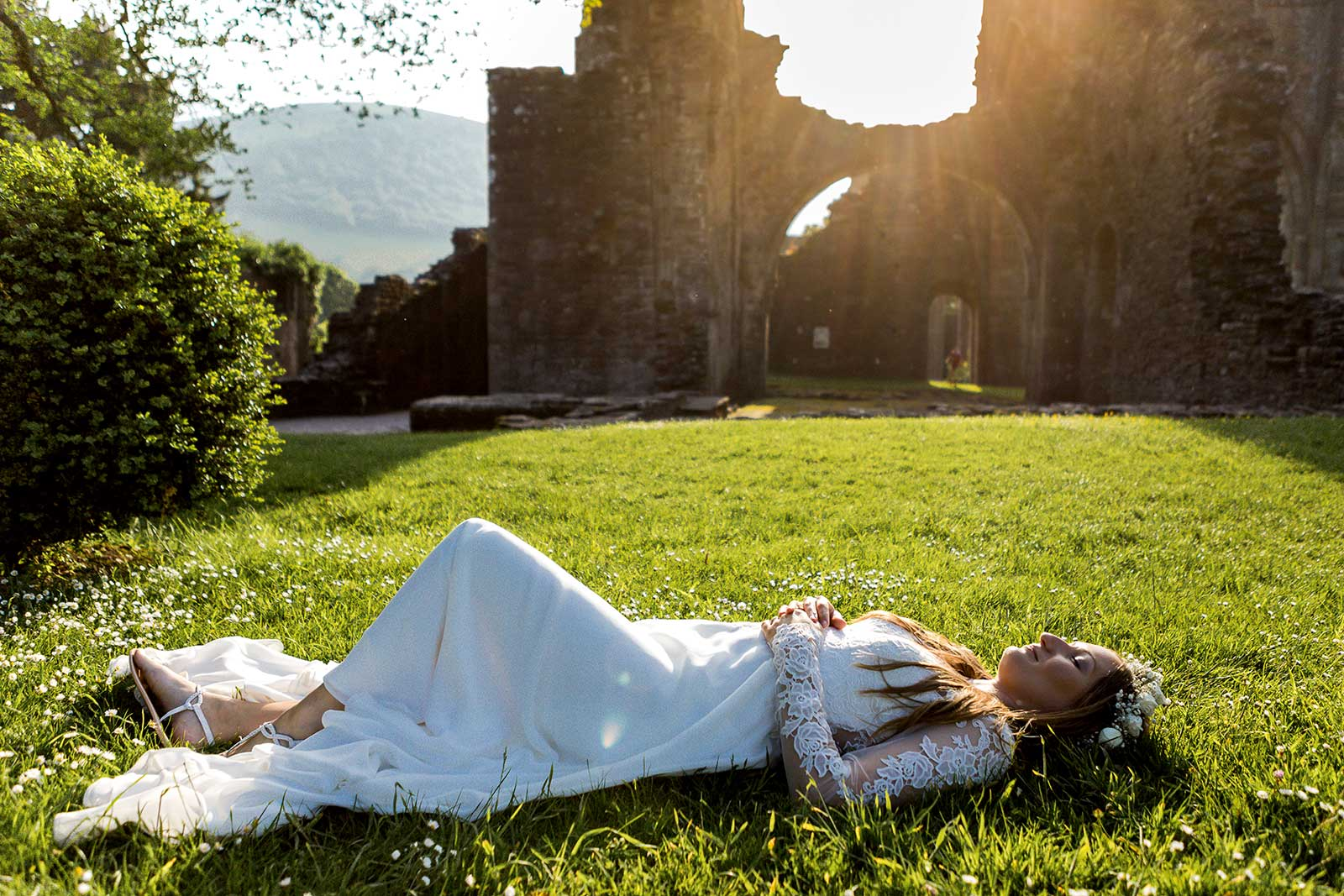 Natural wedding photography Monmouthshire