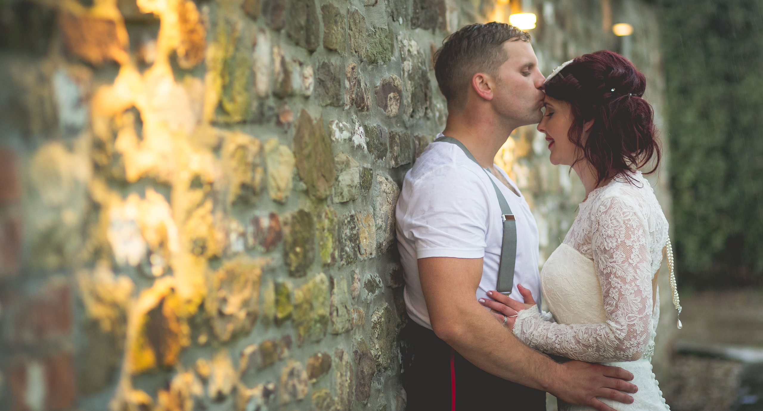 Vintage wedding photography South Wales