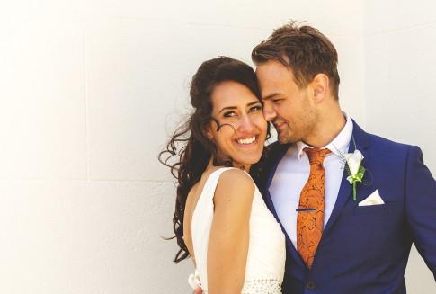 wedding photographer nash point lighthouse
