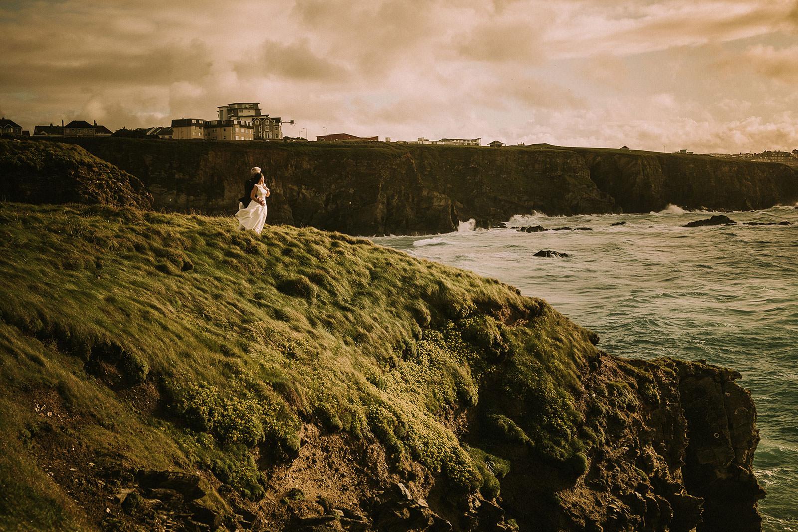 Wedding photography Glendorgal Hotel Newquay