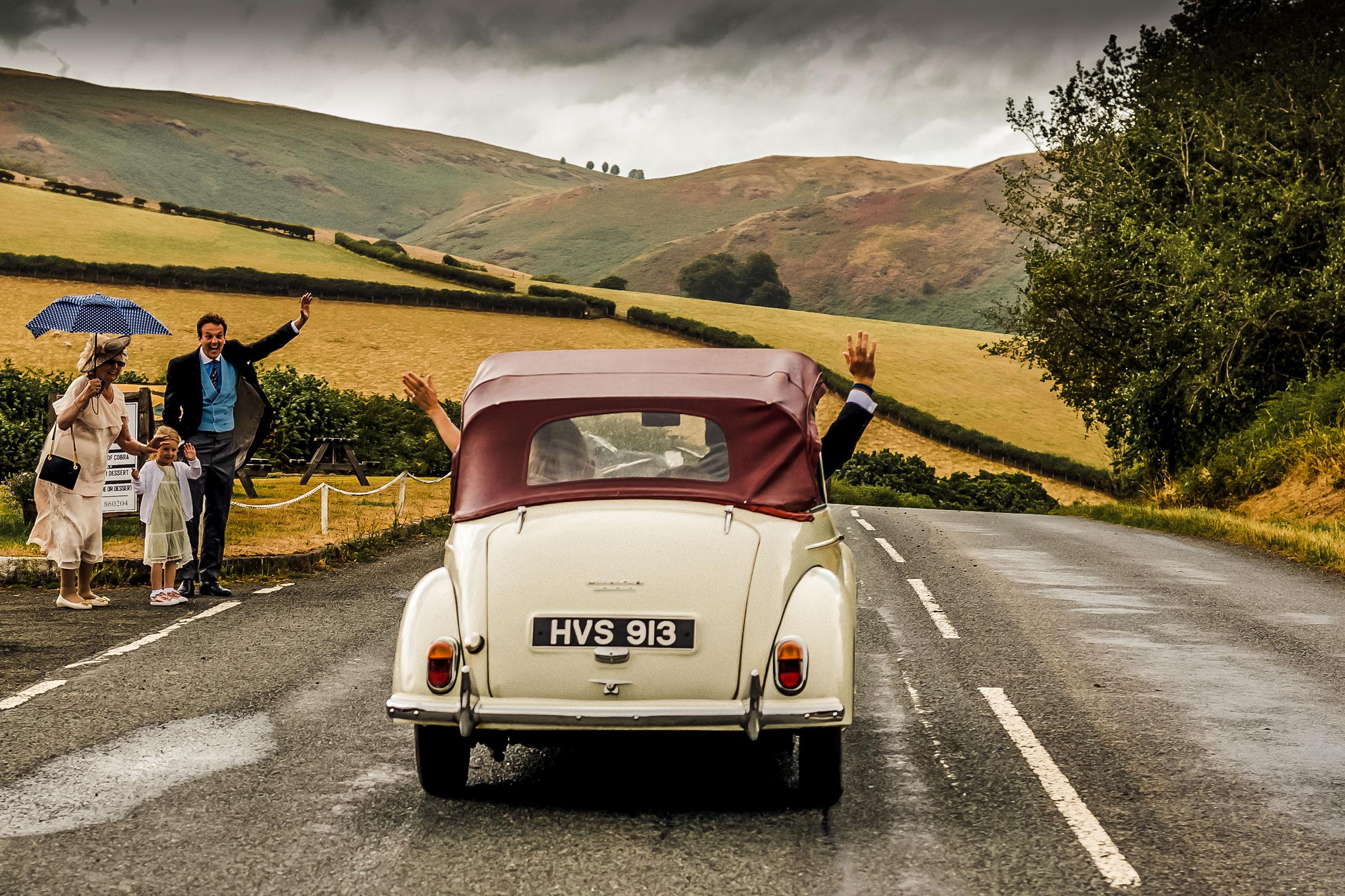 Wedding beetle - DIY wedding wales