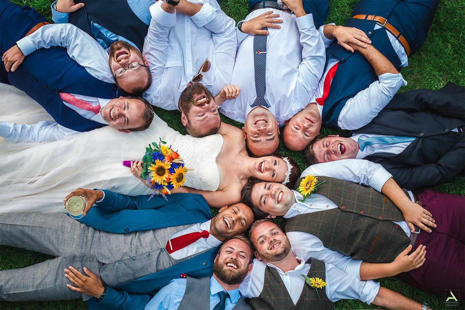 Alternative South Wales Wedding Photographer