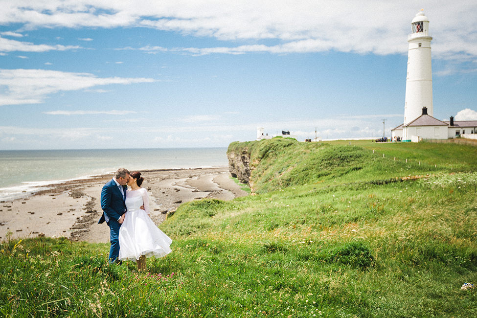 Wedding Photography Nash Point Lighthouse Art By Design