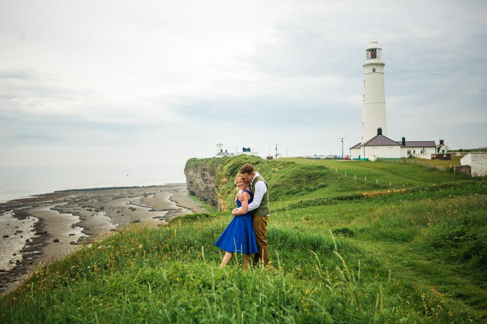 wedding photography nash point lighthouse
