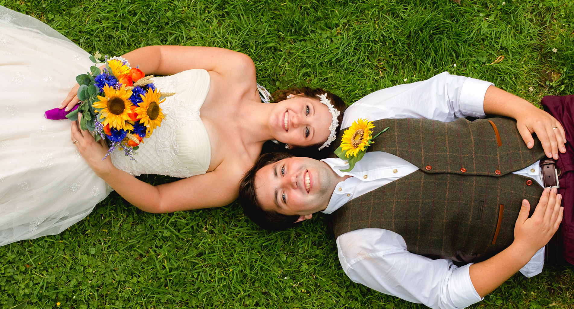 Fun and Natural wedding photography Bridgend
