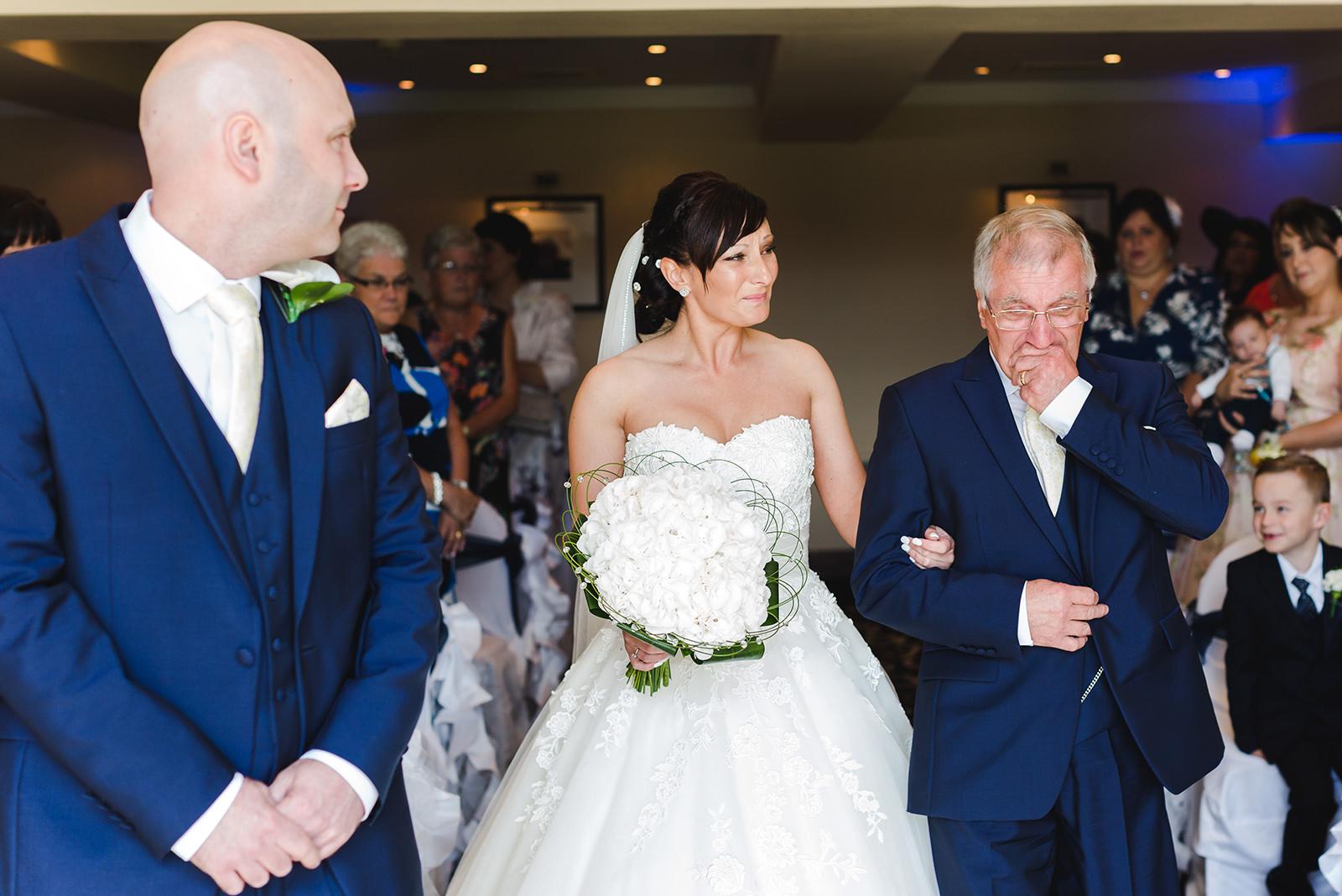 Wedding photography Bryn Meadows Spa