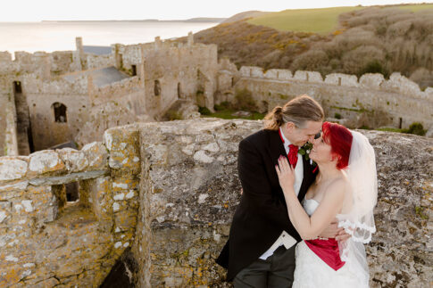 Manorbier Castle Wedding Photography