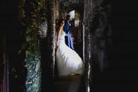 Wedding photography Manorbier Castle