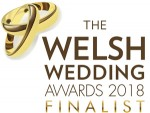 Welsh Wedding Awards 2018 Finalist for wedding photographer of the year