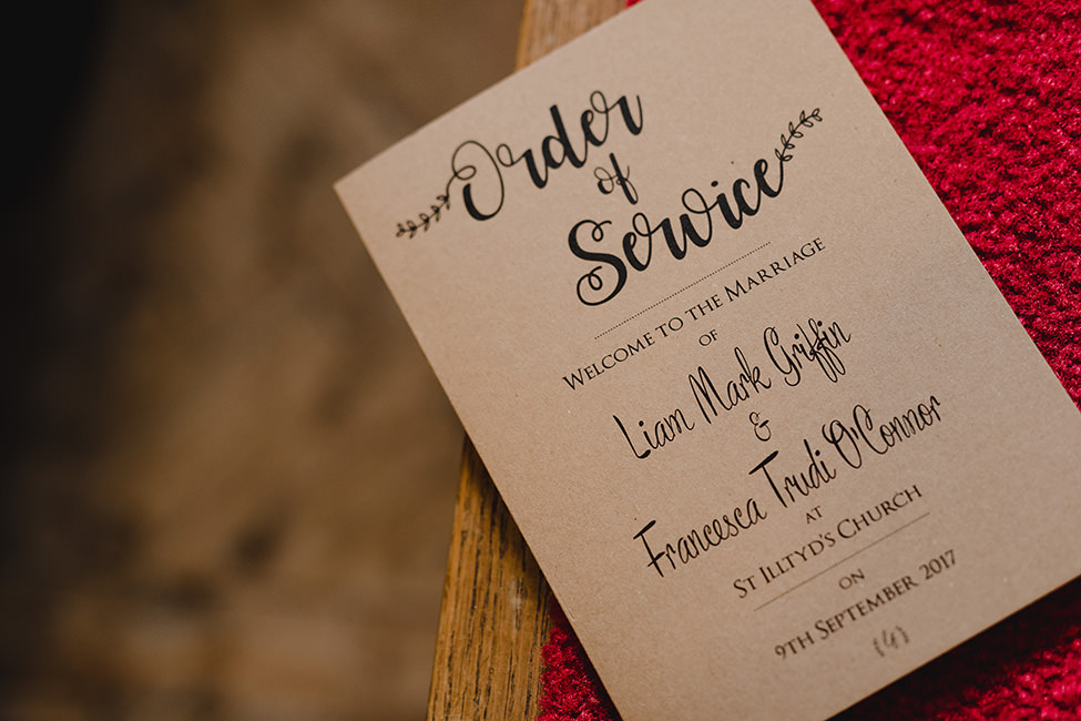 wedding invite south wales