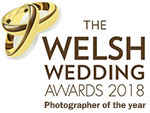 Welsh Wedding Awards 2018 Photographer of the year