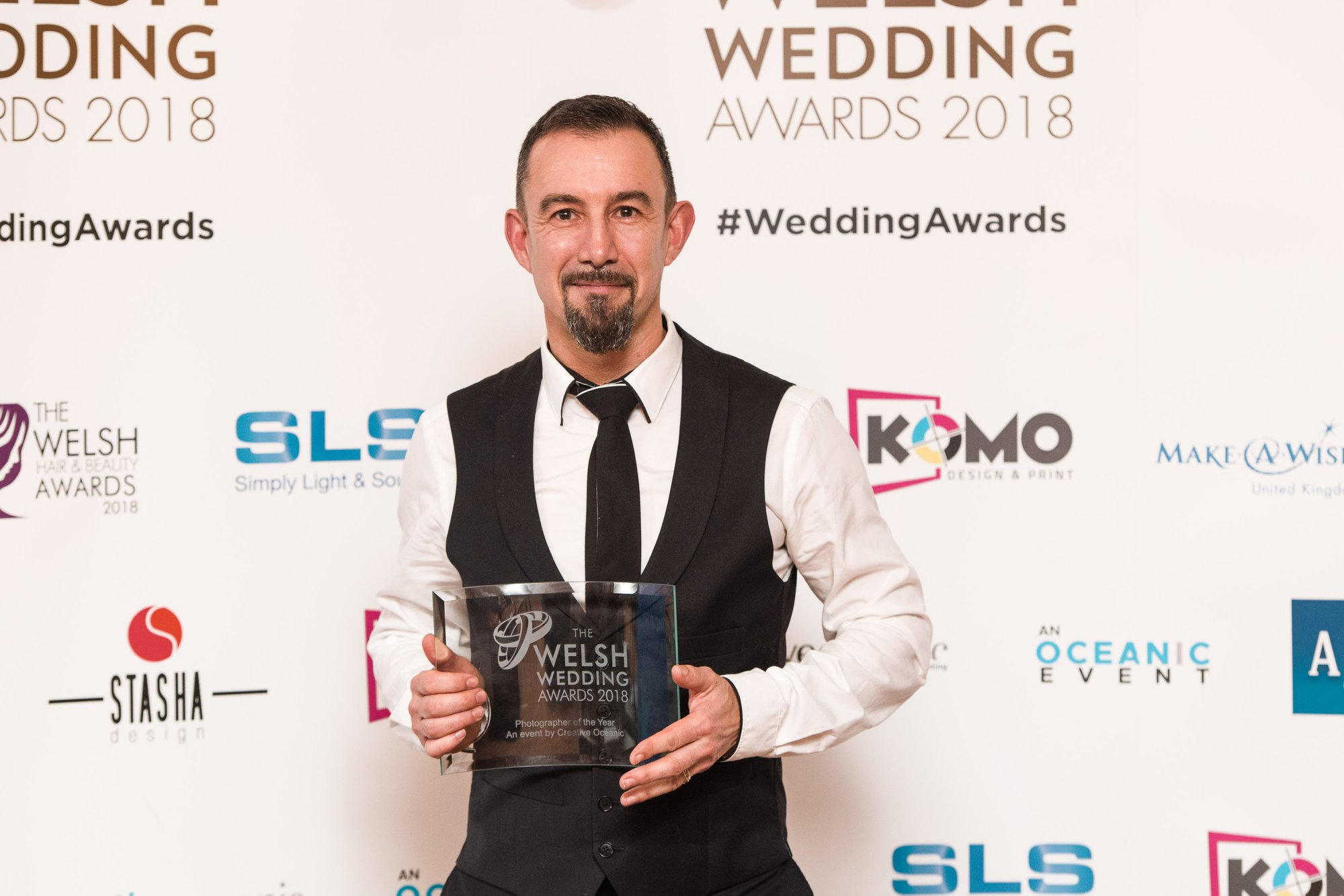 Welsh Wedding Photographer of the year 2018 - The Welsh Wedding Awards 2018