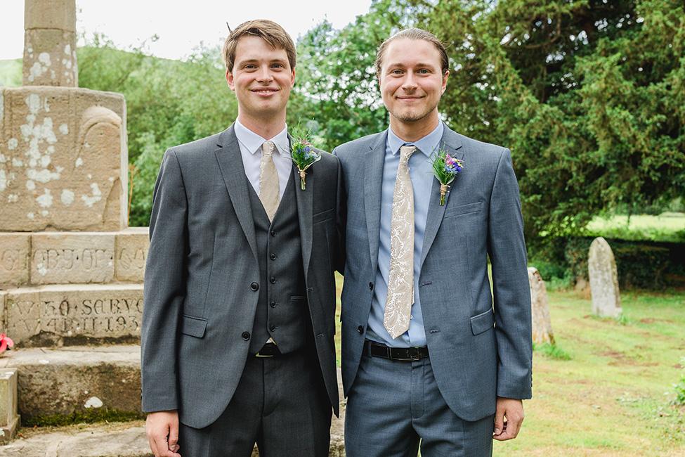Groom and Groomsmen Suits