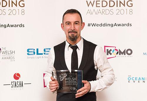 Steve Wheller - Photographer of the year - welsh wedding awards 2018