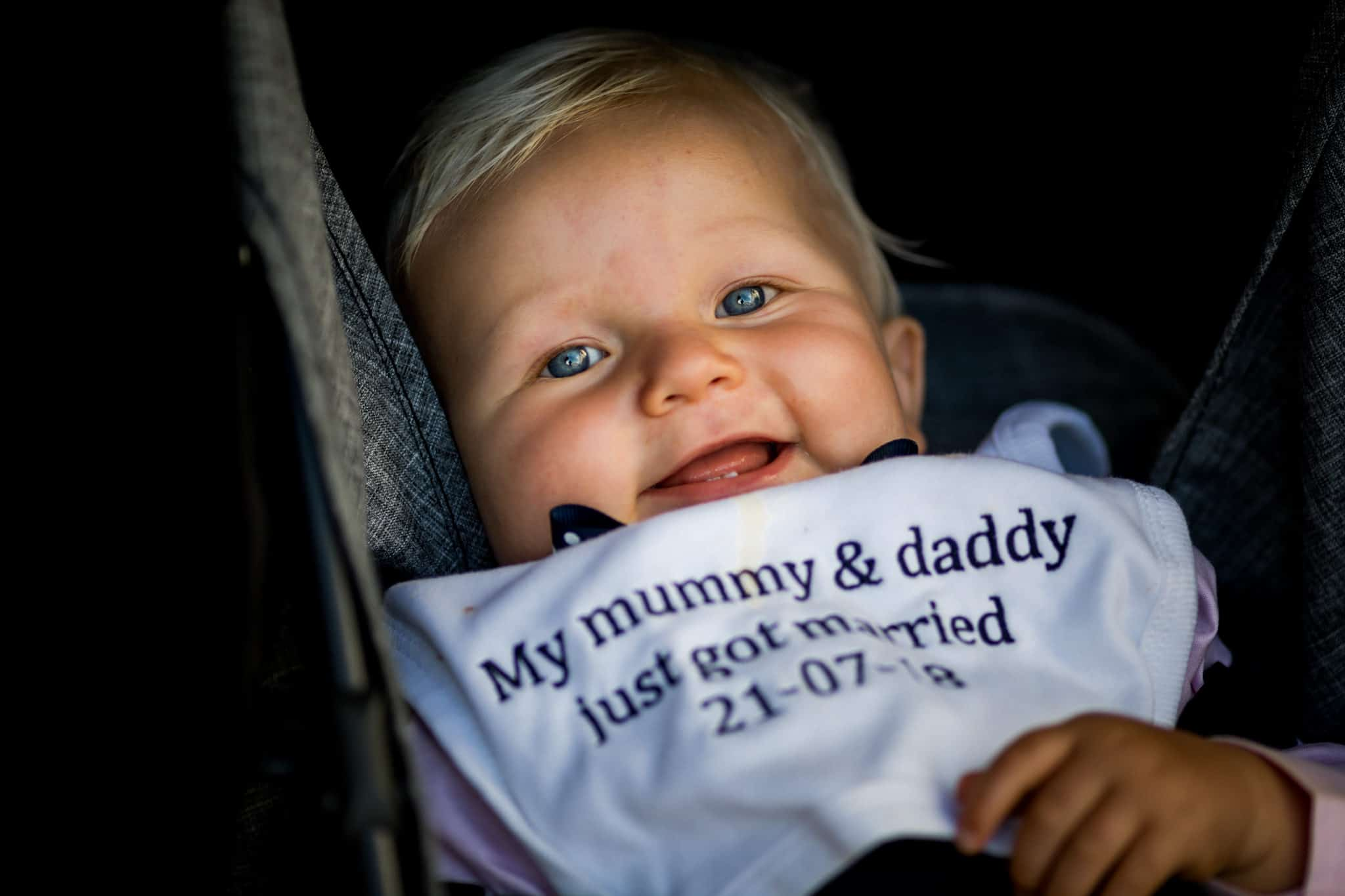 Mummy and Daddy Bib