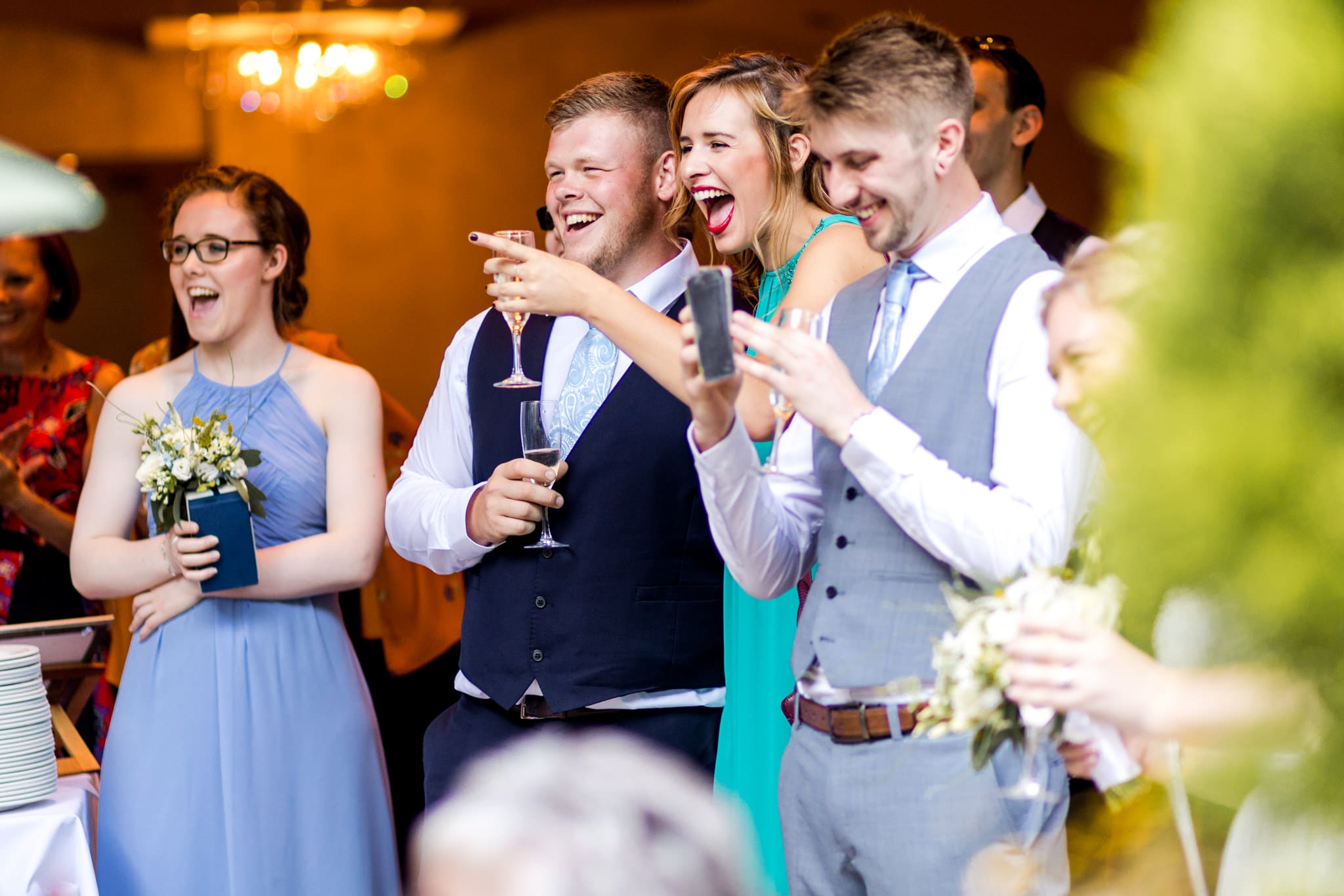 Wedding speeches - wedding photography wales