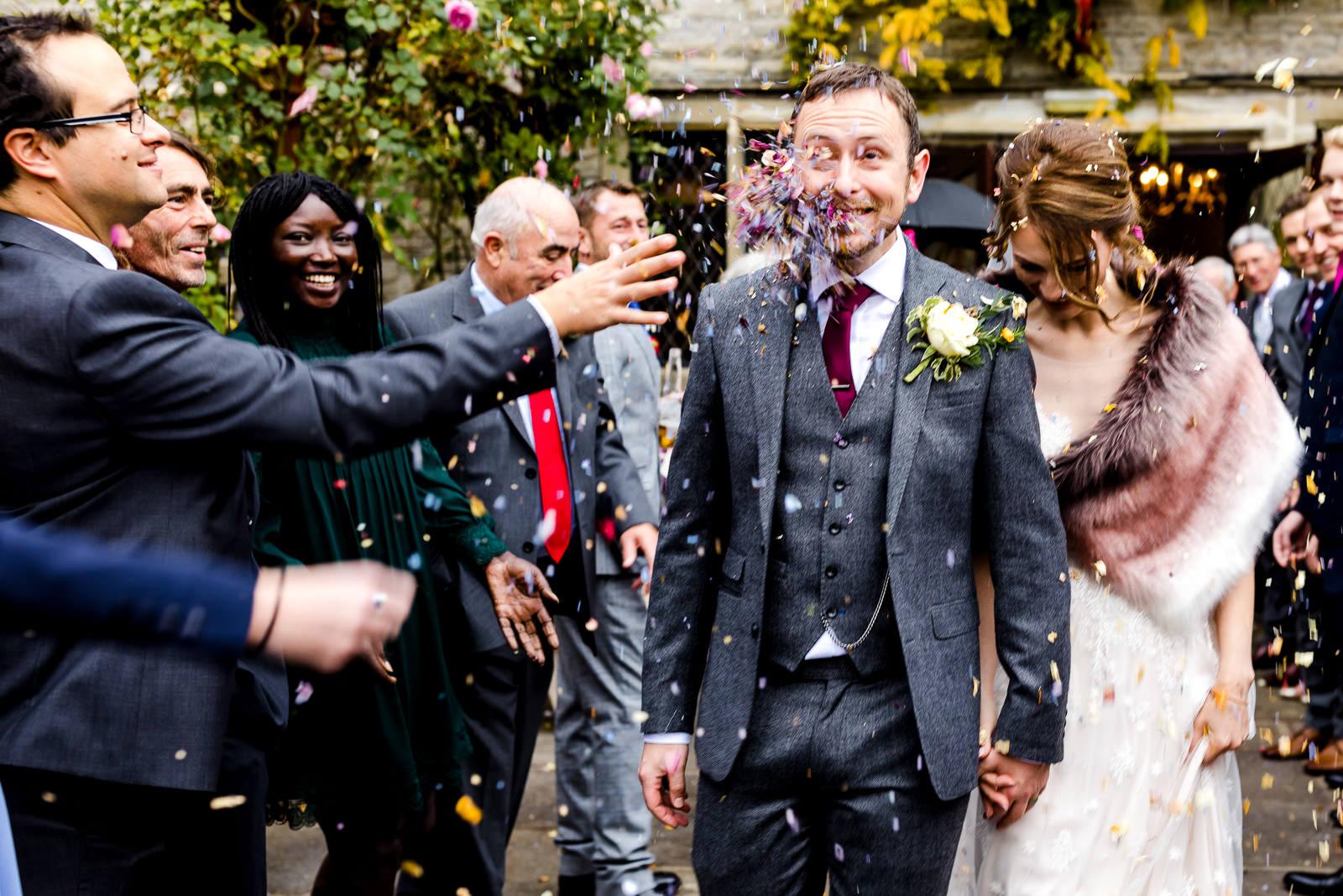 Miskin Manor Wedding Photography - Art by Design Photography - Confetti3