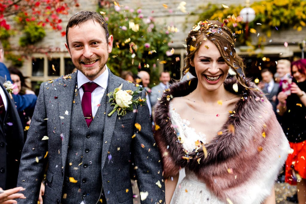 Miskin Manor Wedding Photography - Art by Design Photography - Confetti