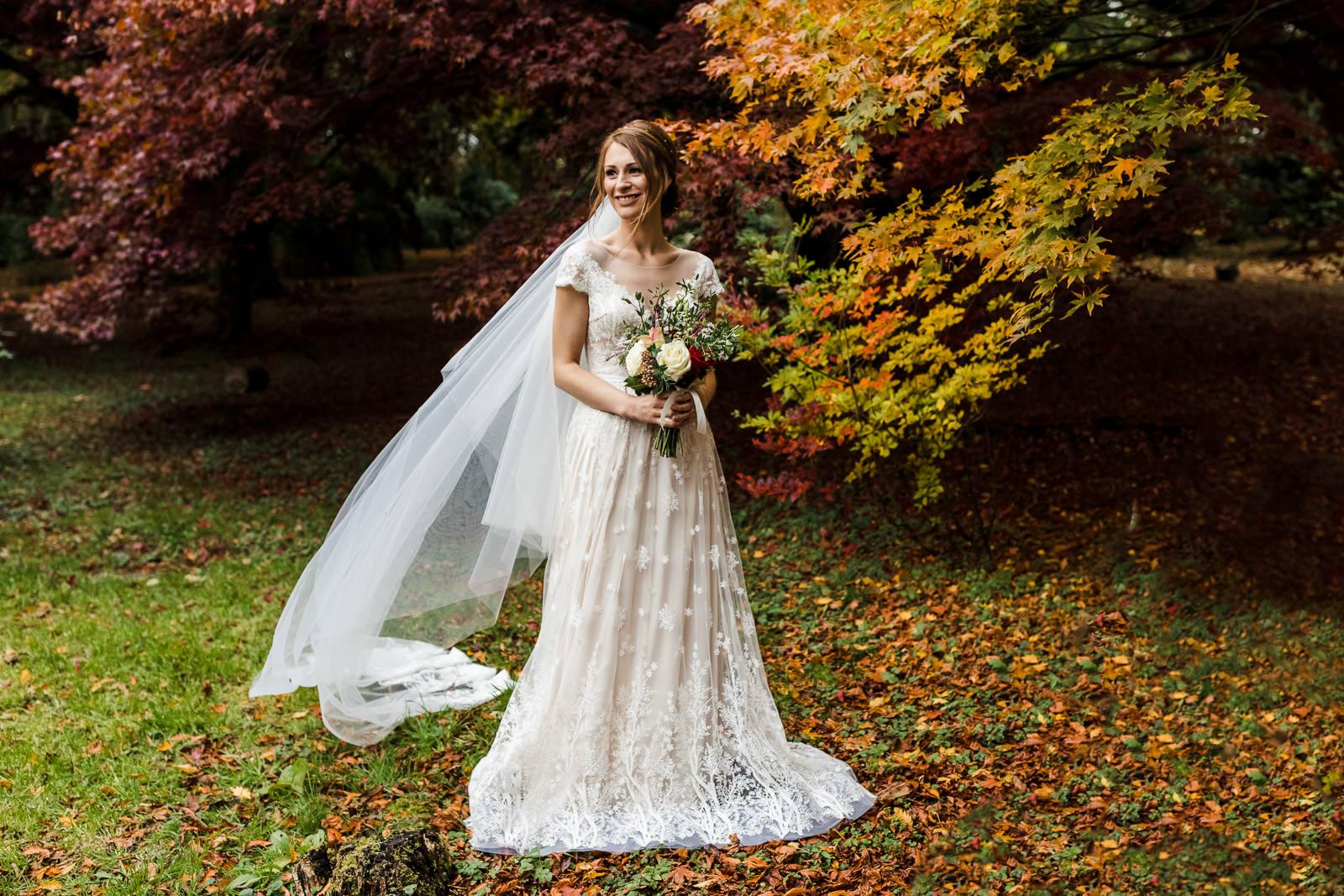 Miskin Manor Wedding Photography - Art by Design Photography - Bride