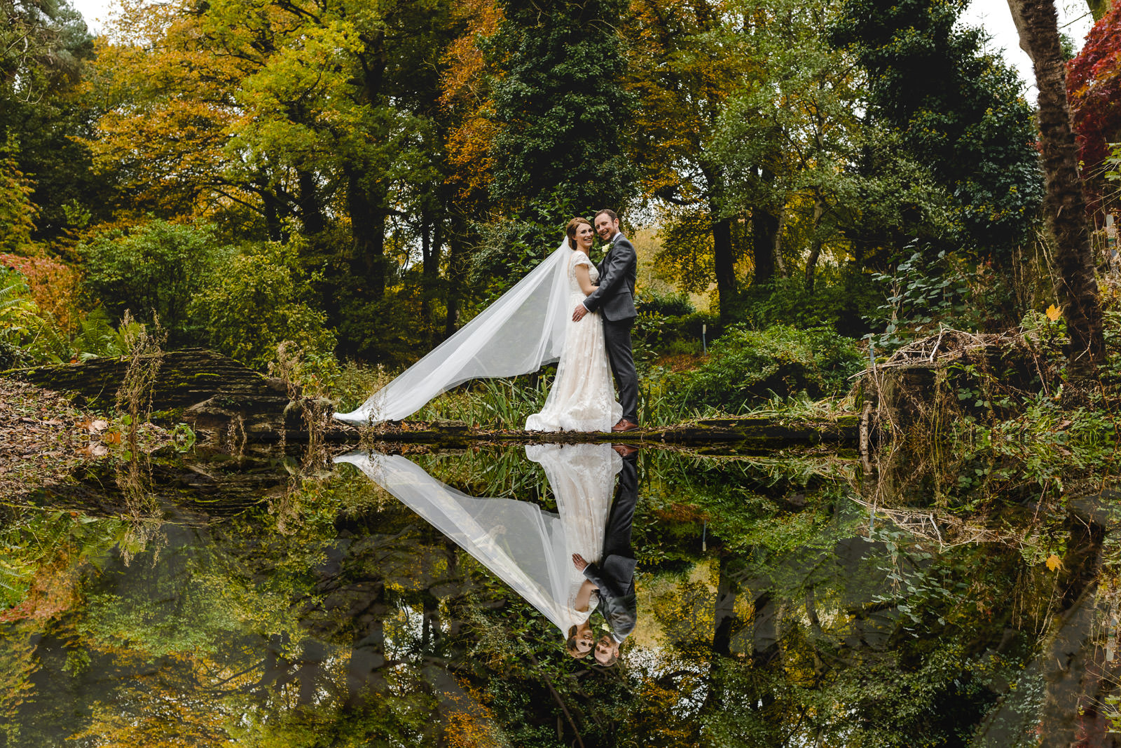 Miskin Manor Wedding Photography - Art by Design Photography - Bride and Groom