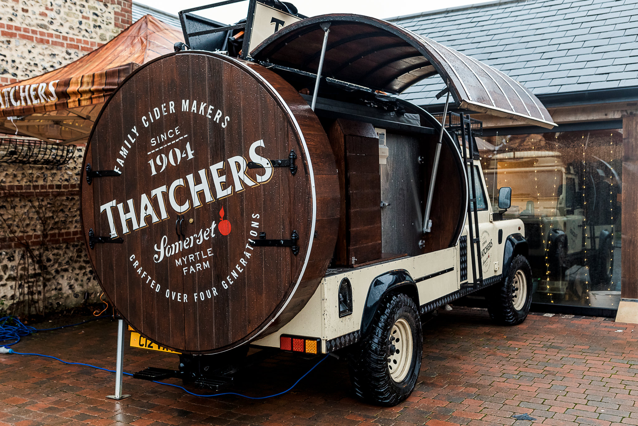The Gathering Barn Wedding - Art by Design Photography - Thatchers Cider