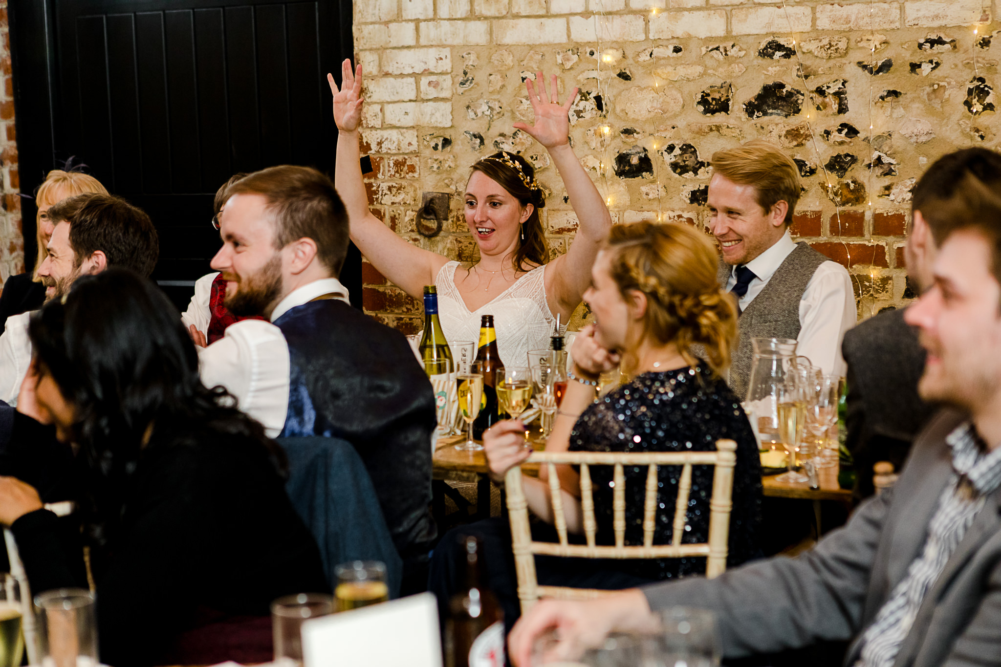 The Gathering Barn Wedding - Art by Design Photography - speeches 2