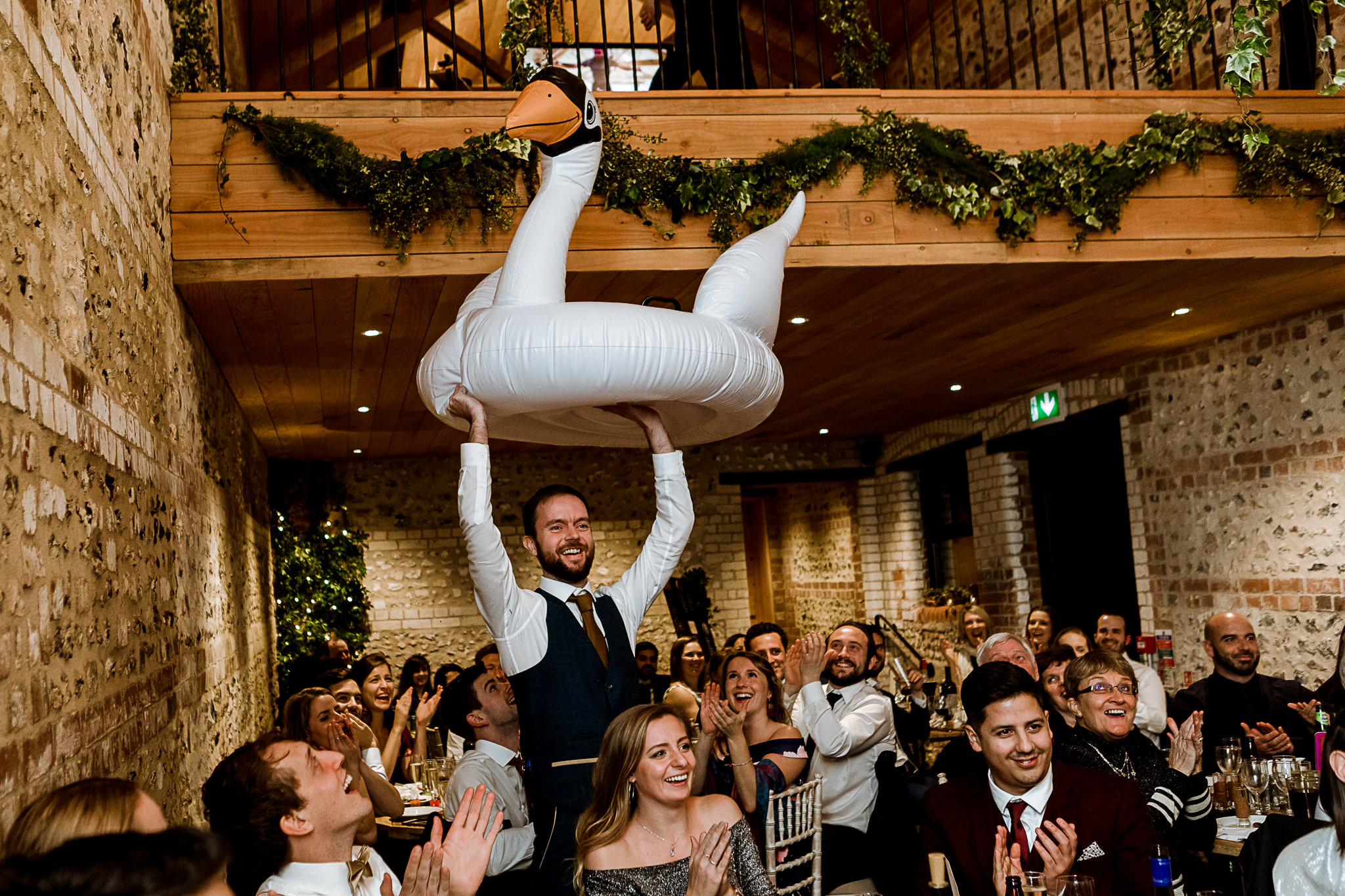 The Gathering Barn Wedding - Art by Design Photography - speeches 3
