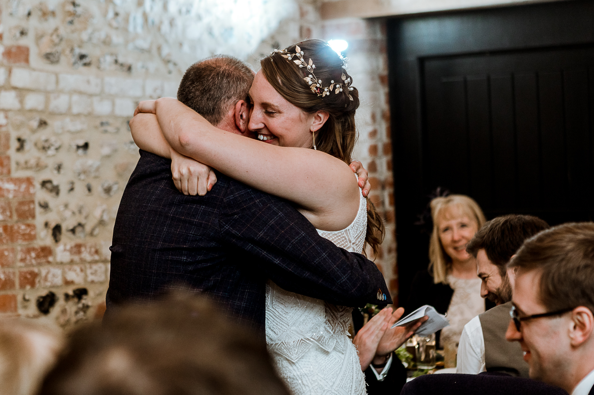The Gathering Barn Wedding - Art by Design Photography - speeches 4