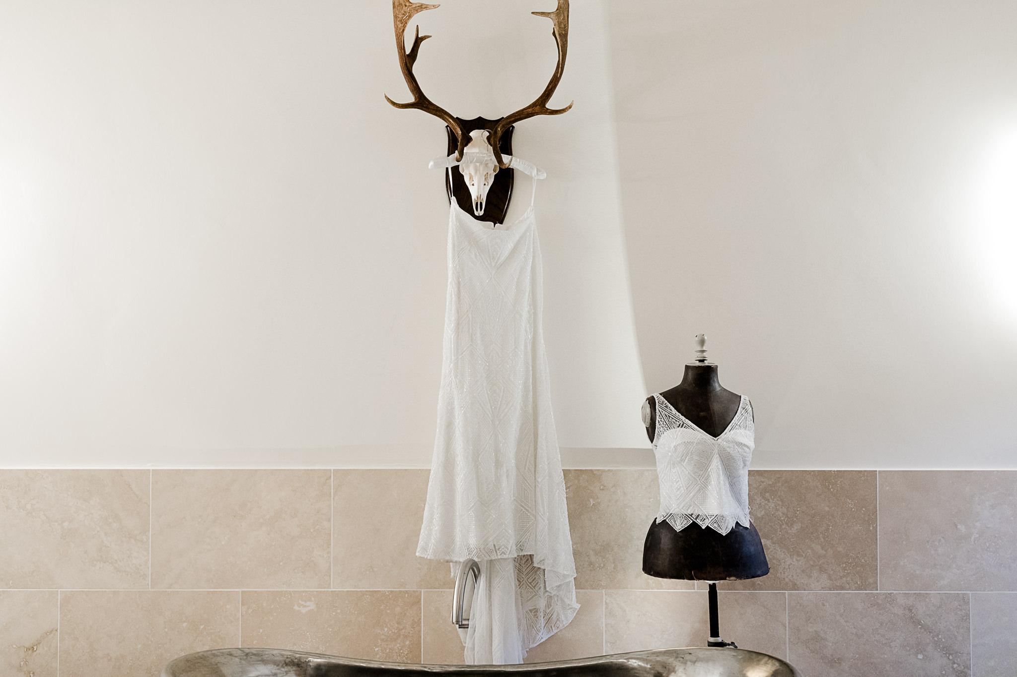 The Gathering Barn Wedding - Art by Design Photography - Wedding Dress