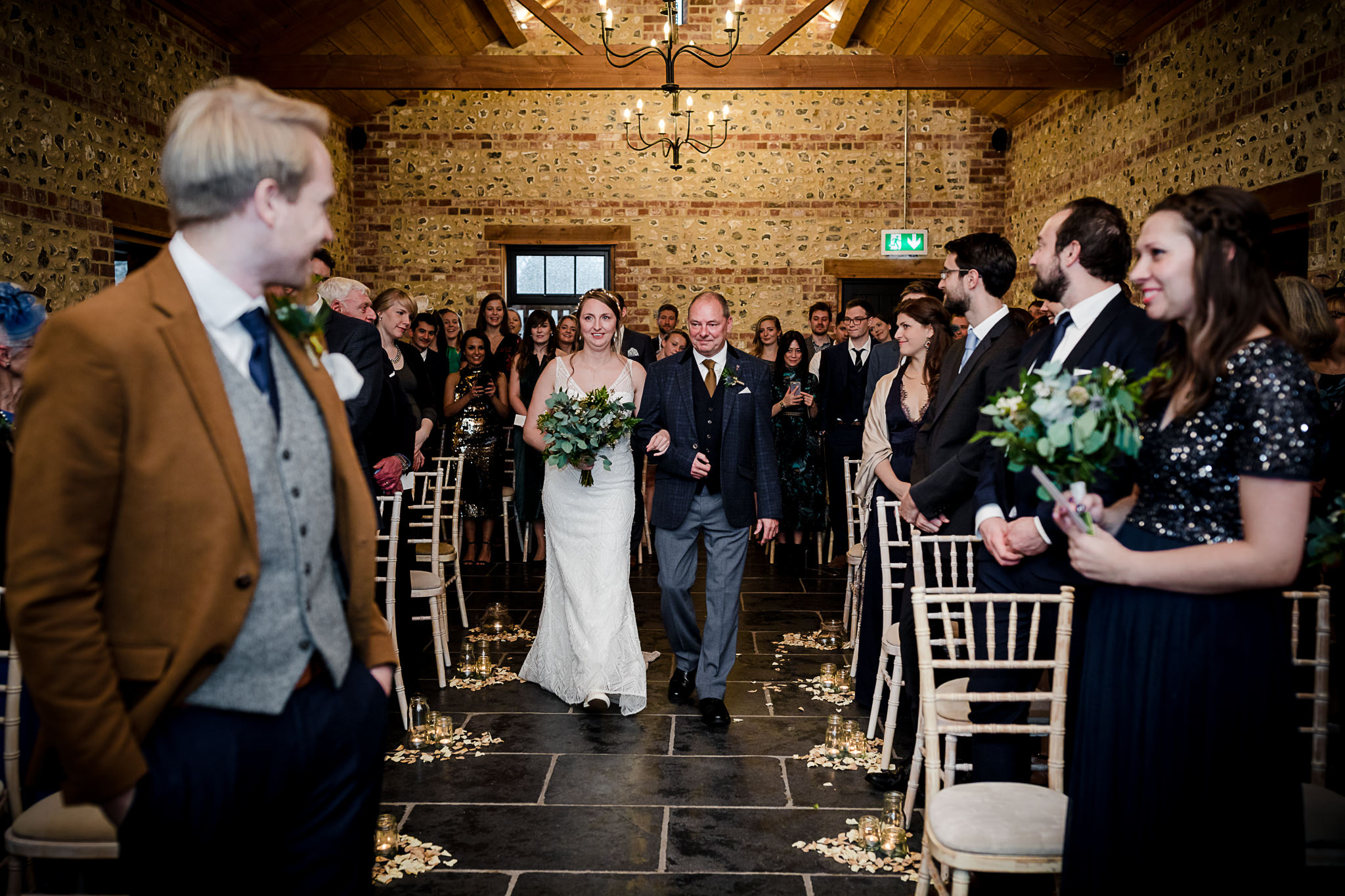 The Gathering Barn Wedding - Art by Design Photography - wedding ceremony