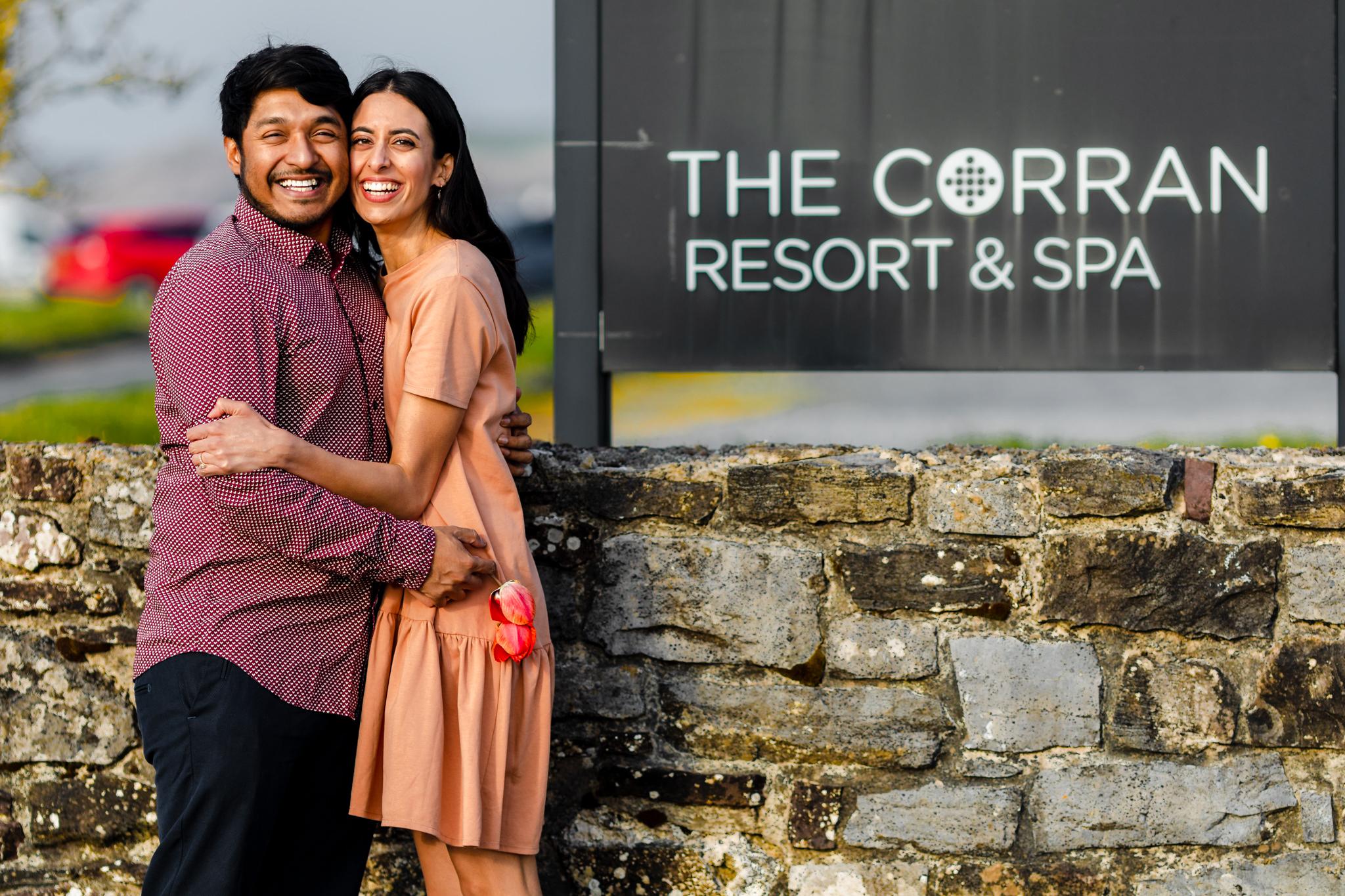 Engagement Photography Corran Resort & Spa