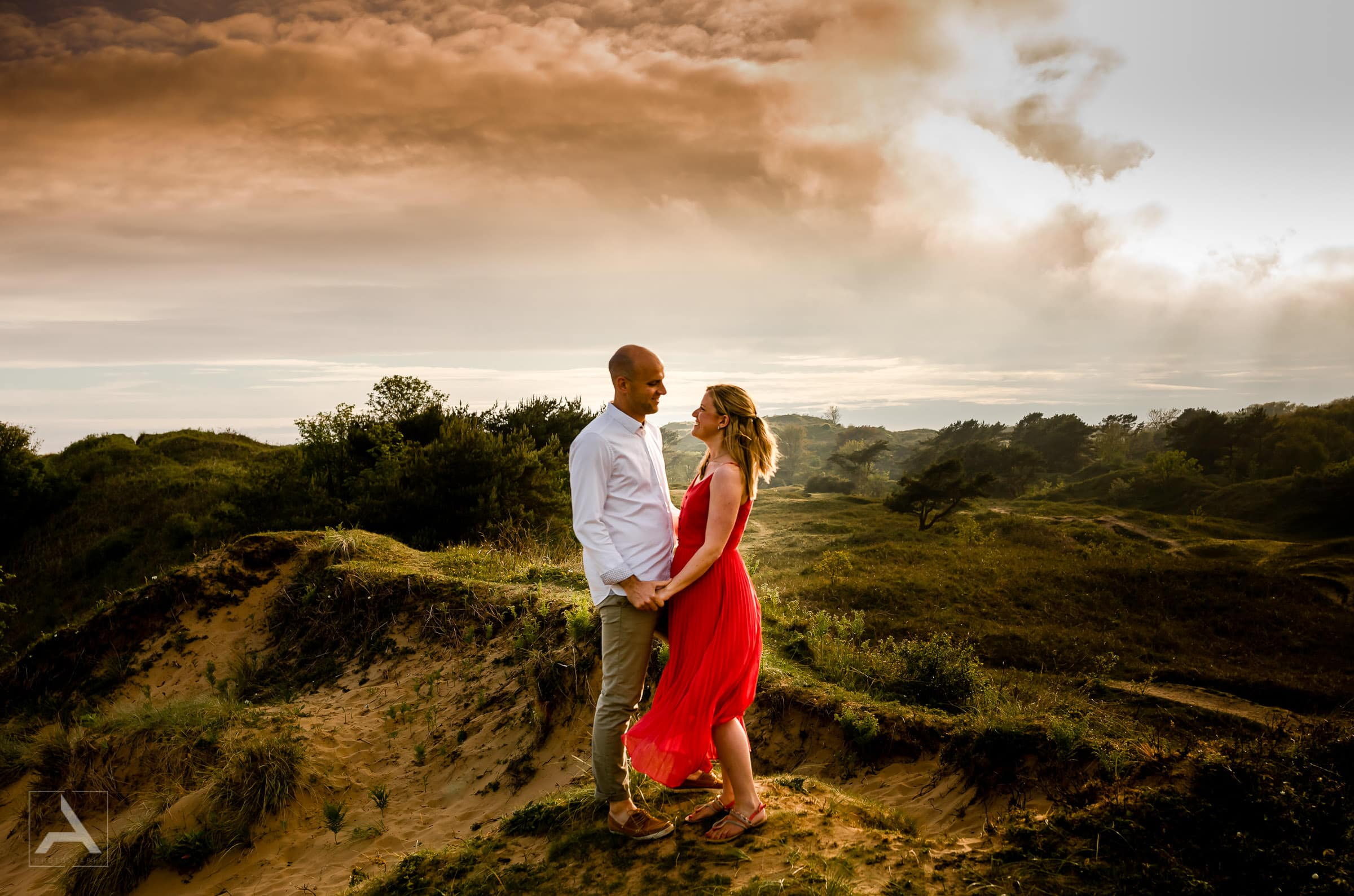 Engagement & Elopement Photography UK - Photoshoot Merthyr Mawr Sand Dunes