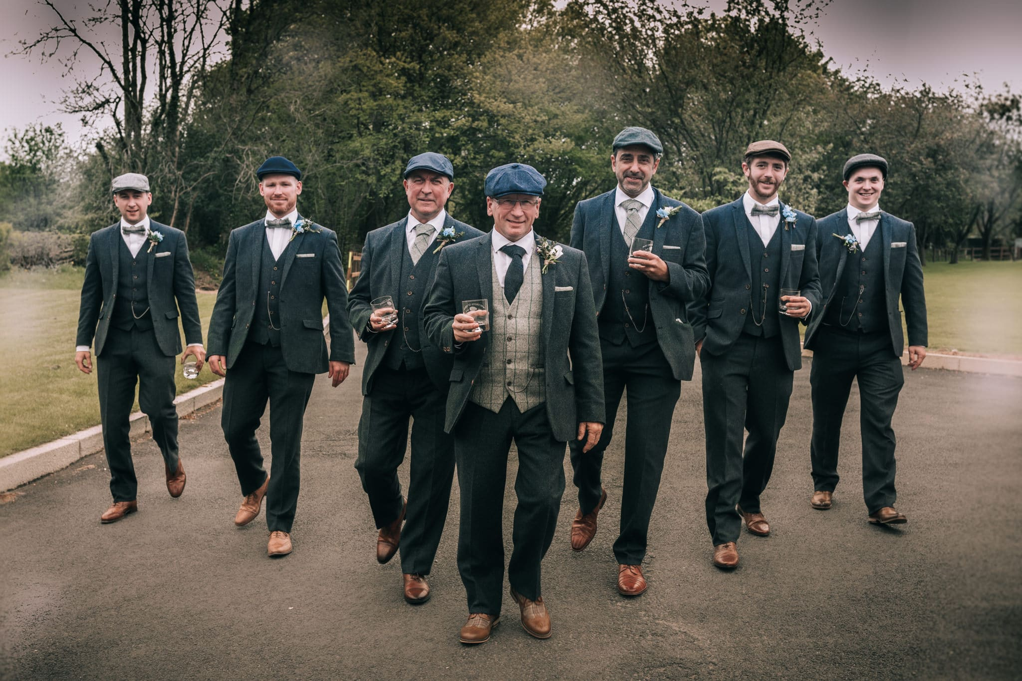 new release competitive price utterly stylish Peaky Blinders Wedding | Vintage wedding South Wales