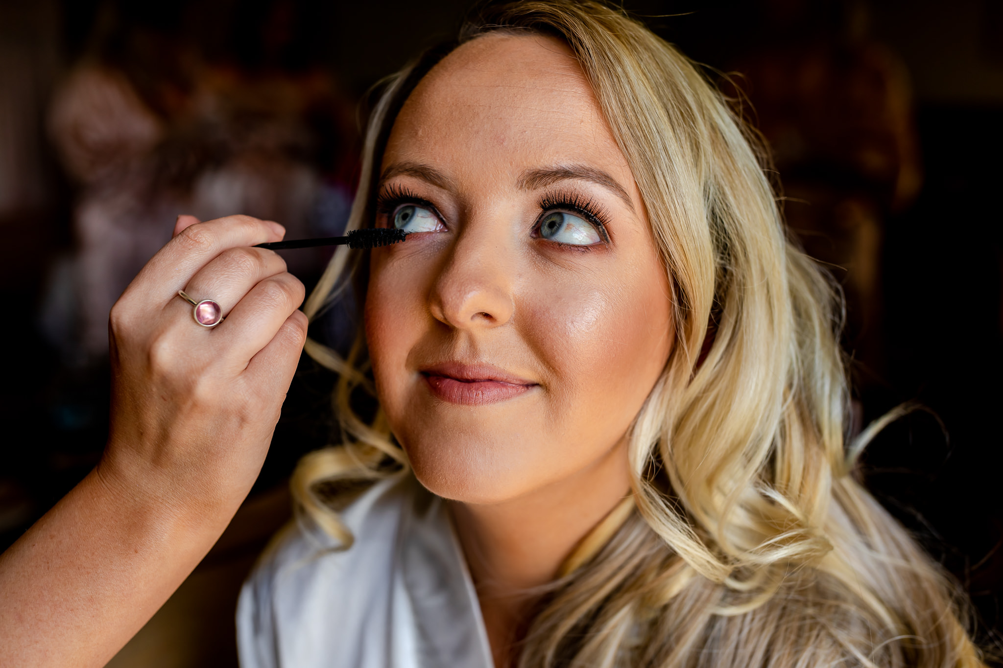 Wedding make up peterstone court
