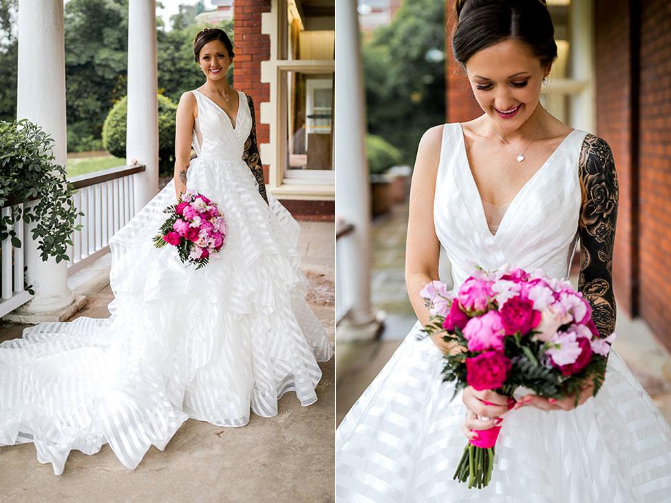 Bride - Newport Wedding Photographer - Peterstone Lakes