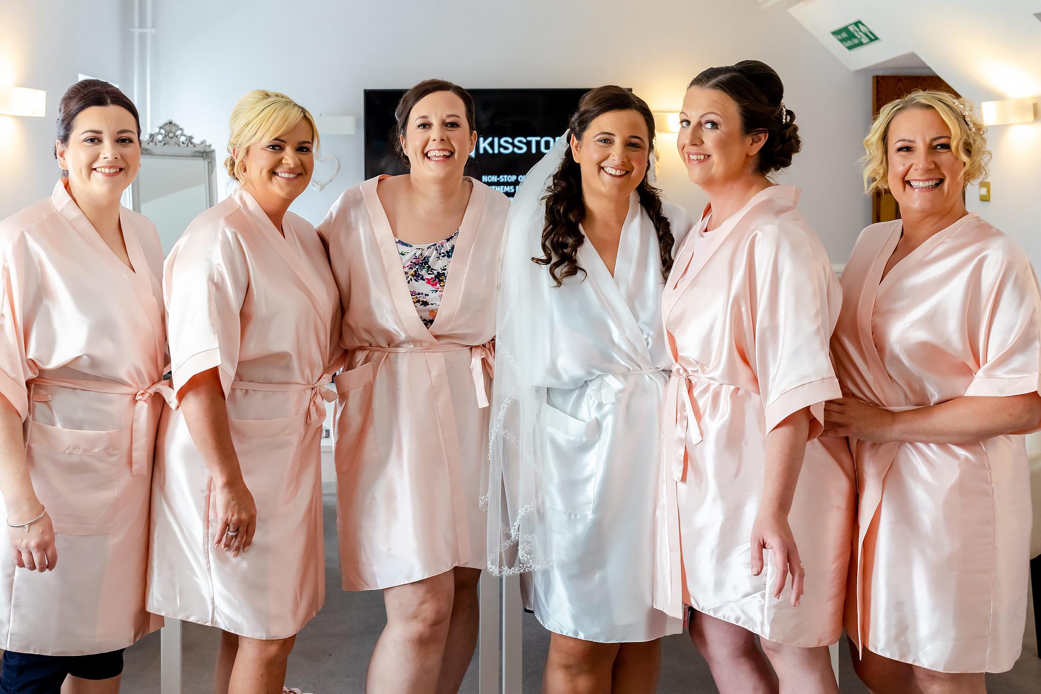 Bryngarw House Wedding Photography - Bride room