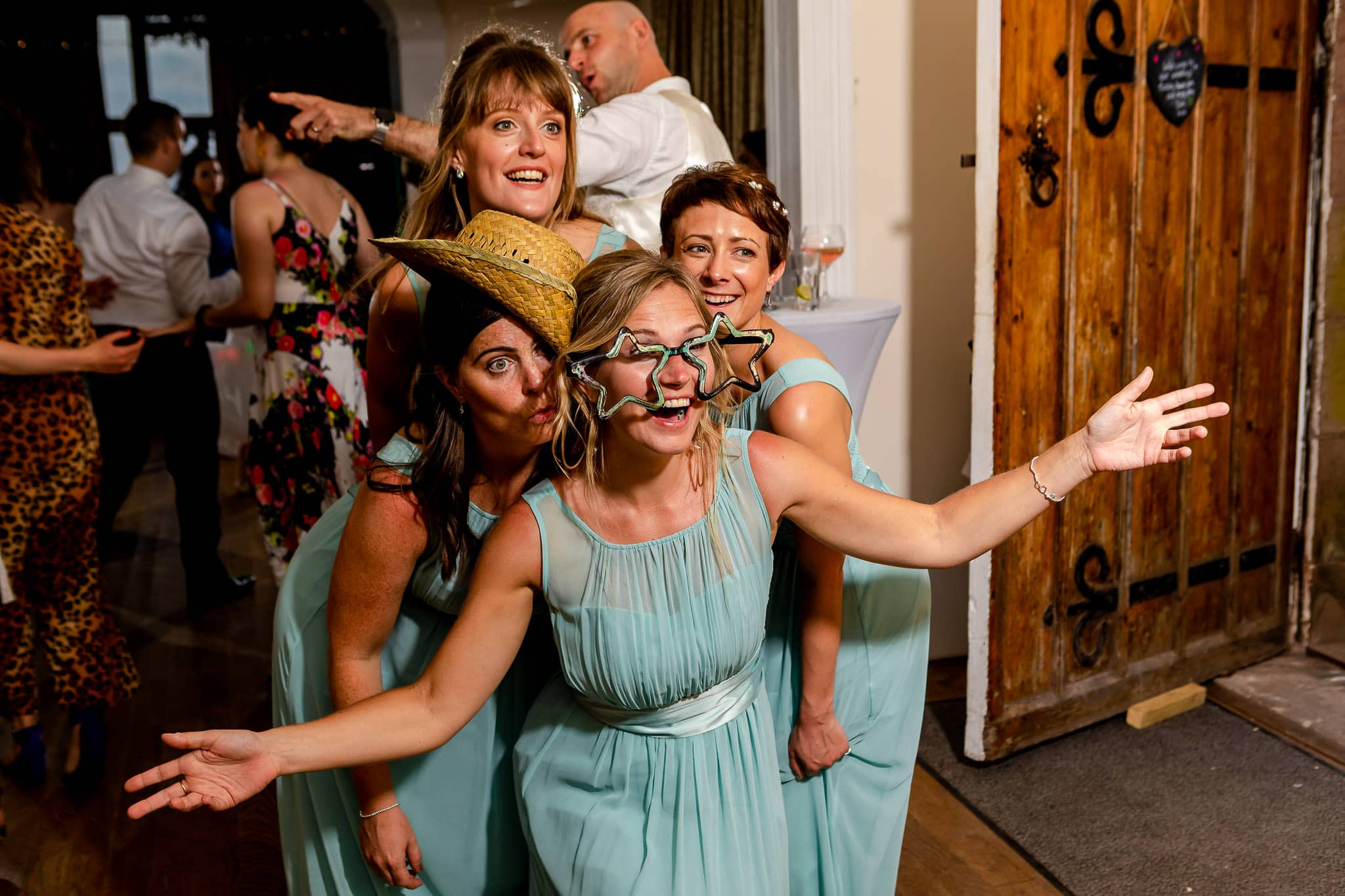 Art by Design - Caer Llan Wedding - Evening Party