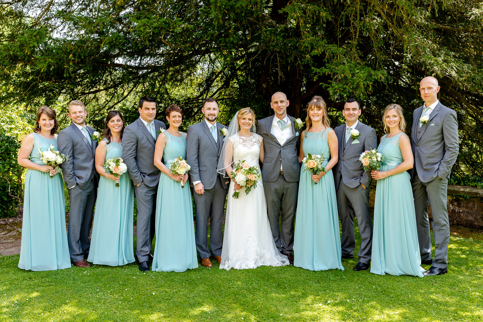 Art by Design - Caer Llan Wedding Photography - Bridal Party