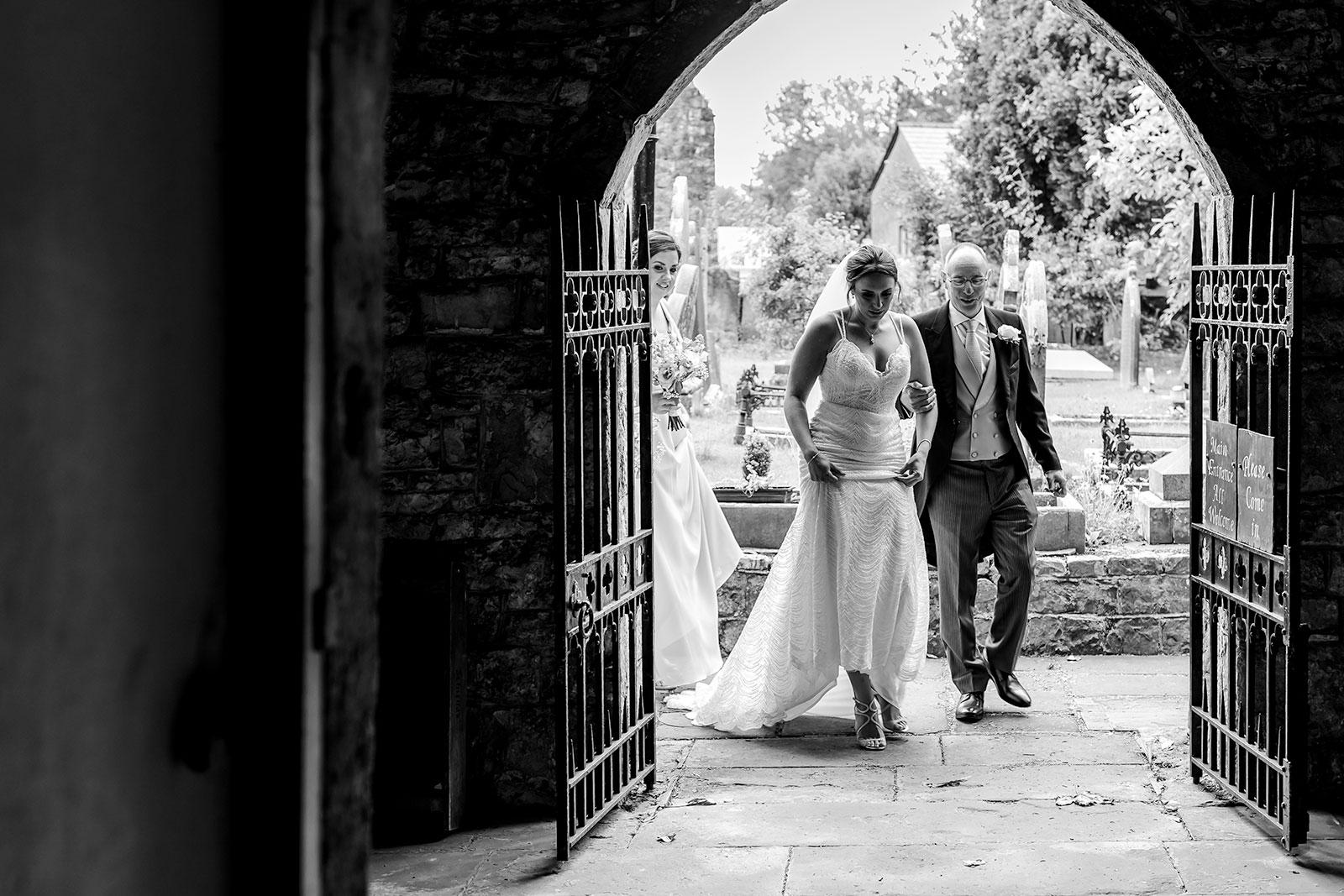 St illtud's Wedding Llantwit Major