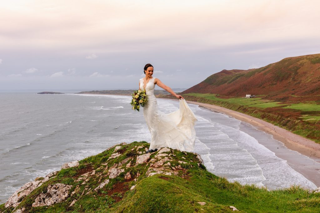 Gower wedding photography - Fairyhill Wedding